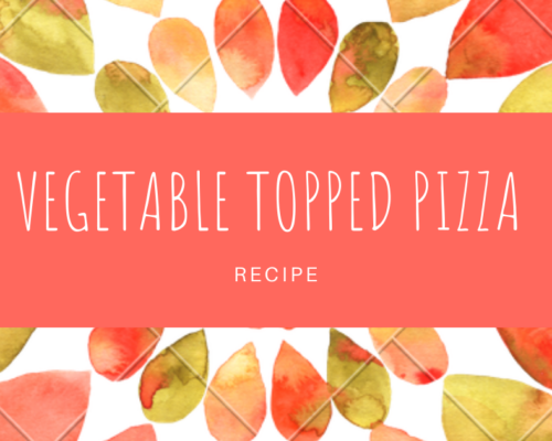 VEGETABLE TOPPED PIZZA